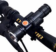 economico -Doppio LED Luci bici Torce LED Luce frontale per bici Fanale anteriore Bicicletta Ciclismo Modalità multiple Super luminoso Portatile Regolabili Solare 1000 lm Ricaricabile Tipo batteria USB Bianco