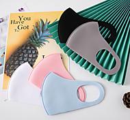 abordables -5 pcs / pack masques matelassés tricotés anti-poussière isolation thermique épaissie mode imperméable à l'eau chaude adulte anti-brume masques de mode automne et hiver