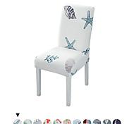 abordables -Housse de chaise Géométrique / Moderne Imprimé Polyester Literie