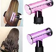 economico -portatile spin curl asciugacapelli diffusore del vento salone bigodino per capelli strumento per lo styling 1 pz bigodini