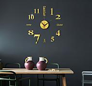 economico -Orologio da parete 3d fai da te orologio da parete specchio senza cornice decorazioni per la casa per soggiorno camera da letto