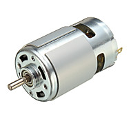 abordables -775 moteur à courant continu DC 12V-36V 3500-9000 tr / min roulement à billes couple élevé haute puissance faible bruit vente chaude composants électroniques moteur