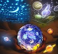abordables -LED ciel étoilé nuit lumière planète étoile lune planète projecteur lampe cosmos univers veilleuses enfants bébé cadeau de noël