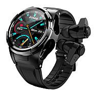 economico -696 S201 Unisex Intelligente Guarda Braccialetti intelligenti Bluetooth Schermo touch Monitoraggio frequenza cardiaca Misurazione della pressione sanguigna Con termometro Assistenza sanitaria ECG