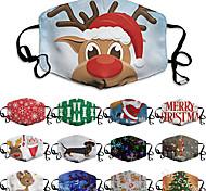 economico -stampa digitale lavabile maschere natalizie da uomo e da donna protezione solare anti-appannamento e antipolvere