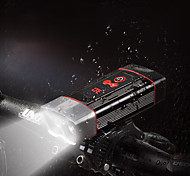 economico -LED Luci bici Luce frontale per bici LED Bicicletta Ciclismo Ruotabile Super luminoso Uscita di ricarica USB Rilascio rapido Solare 2400 lm Batteria ricaricabile Built-in alimentazione Bianco Uso
