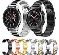economico -Cinturino intelligente per Samsung Galaxy 1 pcs Banda di affari Acciaio inossidabile Sostituzione Custodia con cinturino a strappo per Gear S3 Frontier Gear S3 Classic Samsung Galaxy Watch 46