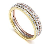 economico -Fede nuziale in argento sterling 925 da 2 mm, anello di fidanzamento impilabile per l'eternità completa con zirconi cubici, per donna taglia 8