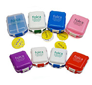 economico -Portapillole da viaggio Portatile / Accessori per valigia Plastica 10*7*3.5 cm