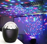 abordables -disco ball party stage projecteur lumières mini led activé par la voix usb cristal boule magique flash dj lumières pour la maison ktv bar voiture