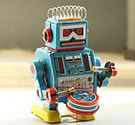 economico -Robot Giocattoli carica a molla Macchina Robot Metallico Ferro Anime 1 pcs Per bambini Da ragazzo Da ragazza Giocattoli Regalo