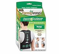 abordables -Le correcteur de posture de maintien de la posture entièrement réglable pour le haut du corps aide à corriger le cou du texte affalé et le pli sur une taille