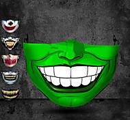 abordables -Halloween commerce extérieur impression adulte anti-poussière masque stéréo 3d de protection peut être lavé masque de coton Vente en gros personnalisé