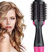 abordables -sèche-cheveux en une étape& volumateur, brosse à air chaud, sèche-cheveux électrique bigoudi et lisseur brosse à air portable à ions négatifs pour tous les types de cheveux