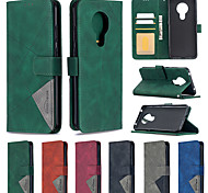 economico -telefono Custodia Per Nokia Integrale Custodia in pelle Custodia flip Nokia 1.3 Nokia 5.3 Porta-carte di credito Con chiusura magnetica A calamita Con onde Tinta unica pelle sintetica