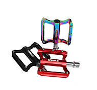 abordables -Pédales Antidérapant Haute résistance Anti-dérapant Aluminium 7075 pour Cyclisme Vélo tout terrain / VTT Arc-en-ciel