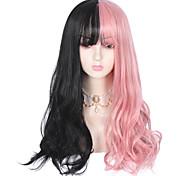 abordables -Non Noir / Rose Sweet Lolita Lolita Ōji (Style Garçon Manqué) Lolita Perruque Lolita  75 pouce Perruques de Cosplay Mode Perruque Perruques d'Halloween