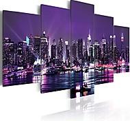 abordables -Paysage urbain new york toile mur art décor image impression conception mur art peinture décorations pour la maison oeuvre photos chambre