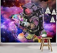 abordables -Trippy astronaute tapisserie tenture murale fantaisie galaxie tapisserie hippie art mural coloré espace mur tapisserie décor à la maison
