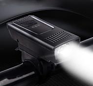 abordables -LED Eclairage de Velo Eclairage de Vélo Avant LED Vélo Cyclisme Imperméable Largage rapide Lithium-ion polymère 55 lm Batterie rechargeable Blanc Camping / Randonnée / Spéléologie Usage quotidien
