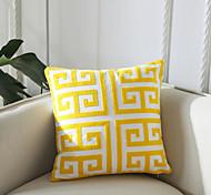 abordables -1 pc géométrie broderie bureau à domicile taie d'oreiller couverture salon chambre canapé housse de coussin