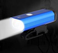 abordables -feux de vélo avant et arrière ensemble de lumière de vélo lumineux rechargeable usb éclairage avant et arrière ipx5 vélo étanche camping lampe de poche led autonomie 8 + heures 400 lumen (bleu)