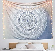 abordables -Tapisserie murale art décor couverture rideau suspendu maison chambre salon dortoir décoration polyester impression mandala indien