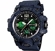 economico -orologio digitale da uomo analogico, orologio militare impermeabile con doppio display allarme cronometro calendario retroilluminazione a led orologio da polso sportivo per uomo litbwat