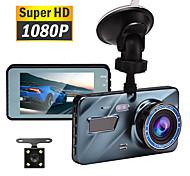 abordables -1080p Nouveau design / Enregistrement automatique de démarrage DVR de voiture 140 Degrés Grand angle 3.5 pouce TFT / LTPS / LCD Dash Cam avec Vision nocturne / G-Sensor / Enregistrement en Boucle