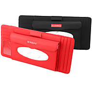 economico -porta fazzoletti per visiera per auto in vera pelle deranfu con porta cd multifunzionale organizer per cd visiera portafazzoletti per fessura per carta per auto& camion