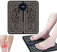 abordables -EMS électrique coussin de massage des pieds pieds stimulateur d'acupuncture impulsion musculaire masseur pieds coussin de massage usb outil de soins des pieds machine
