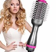abordables -brosse sèche-cheveux - une étape de la brosse à air chaud, 4 en 1 bigoudi lisseur volumateur sèche-cheveux, réduction des frisottis et de l'électricité statique, kit de coiffeur de peigne 1000w pour