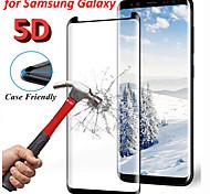 economico -telefono Proteggi Schermo Per Samsung S9 S8 Nota 9 Vetro temperato 1 pezzo Alta definizione (HD) Durezza 9H A prova di esplosione Proteggi-schermo frontale Appendini per cellulare