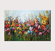 economico -Hang-Dipinto ad olio Dipinta a mano Orizzontale Astratto Paesaggi Moderno Senza telaio interno  (senza cornice)