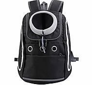 economico -comodo zaino per cani e gatti, zaino per cuccioli con design traspirante e spalla imbottita per escursioni all'aperto (nero)