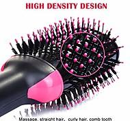 abordables -brosse sèche-cheveux brosse à air chaud 4-en-1 fer à friser fer à lisser sèche-cheveux brosse à cheveux ionique sèche-cheveux (rosé)