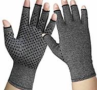 economico -guanti per artrite - guanti da compressione per artrite da donna e da uomo - alleviare reumatoidi e artrosi, gonfiore, tensione muscolare e digitazione al computer (1 paio) (l)