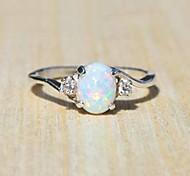 economico -anello in argento sterling 925 delle donne squisite taglio ovale gioielli con diamanti opale di fuoco regalo di compleanno proposta di fidanzamento da sposa anelli a fascia taglia 5-11 blu 6