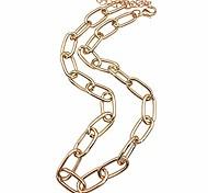 abordables -colliers tour de cou pour femmes couleur or collier tour de cou chaîne chokers collier délicat, collier trombone pour femmes filles (couleur or)