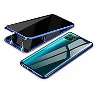 economico -telefono Custodia Per Huawei Integrale HUAWEI P40 Huawei P30 Huawei P30 Lite P40 lite P40 lite E P smart 2020 Resistente agli urti Transparente Anti peep Transparente Vetro temperato Metallo