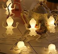 abordables -halloween guirlande lumineuse 1.5m 10leds crâne halloween guirlandes lumineuses à piles fantôme festival horreur lumière chaîne halloween décoration accessoires décoration extérieure