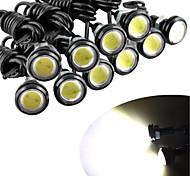 economico -10 pz 23 mm auto eagle eye drl led luci di marcia diurna led 12v backup retromarcia segnale di parcheggio lampade per automobili
