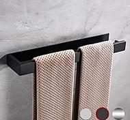 abordables -Barre porte-serviette / Etagère de Salle de Bain Longueur ajustable / Nouveau design / Auto-Adhésives contemporain / Moderne Acier inoxydable / Acier à basse teneur en carbone / Métal 1 pc - Salle de