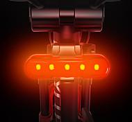 economico -LED Luci bici Luce posteriore per bici LED Bicicletta Ciclismo Ruotabile Anti-polvere Rilascio rapido Litio-polimero 120 lm Batteria ricaricabile Bianco Rosso Blu Campeggio / Escursionismo