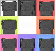 economico -telefono Custodia Per Huawei Per retro MatePad T8 Resistente agli urti Con supporto Tinta unita TPU PC