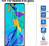 abordables -Protection Ecran Huawei Verre Trempé Huawei P30 Huawei P30 Lite 1 pc Haute Définition (HD) Dureté 9H Coin Arrondi 2.5D Ecran de Protection Avant Film Vitre Protection Accessoire de Téléphone