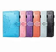 abordables -téléphone Coque Pour Apple Coque Intégrale iPad Mini 3/2/1 iPad Mini 4 iPad Mini 5 Porte Carte Clapet Magnétique Couleur Pleine faux cuir