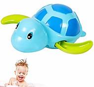 abordables -1 pc jouet de bain tortues de natation flottant jouet de bain pour bébé à remonter adorable jouets de baignoire de tortue pour les tout-petits jouets flottants (bleu)