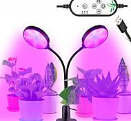 abordables -1 pcs 30 w usb gradation led élèvent la lumière led plantes lampes spectre complet phyto lampe minuterie pour intérieur légume fleur semis