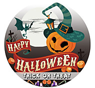 abordables -fête d'halloween décor d'halloween horreur fantôme vacances stickers muraux autocollants muraux de vacances autocollants de toilette, pvc décoration de la maison sticker mural / toilette décoration 1